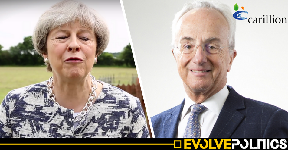 Chairman of bankrupt Carillion firm was a 'Corporate Responsibility Advisor' to Theresa May
