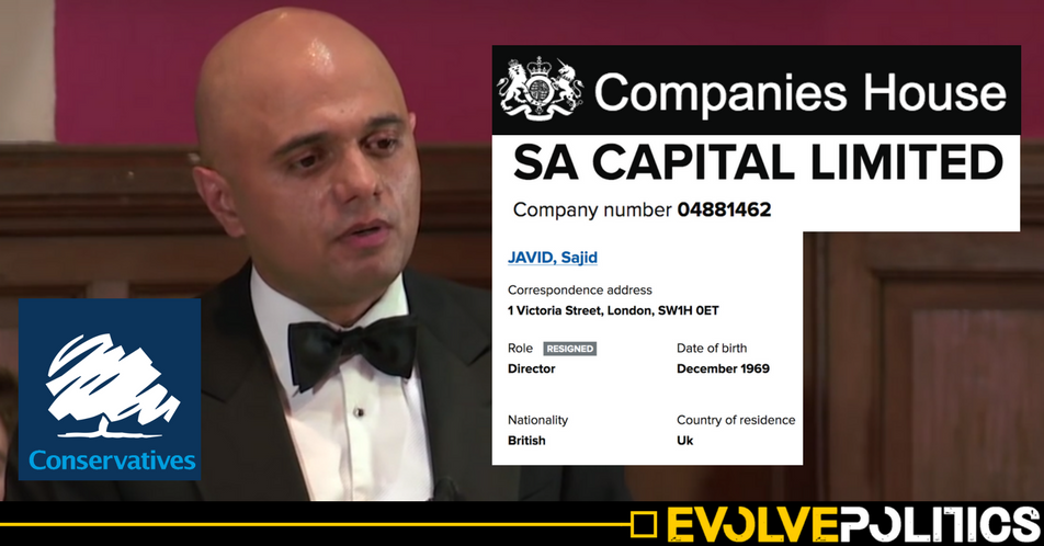 New Tory Housing Minister Sajid Javid was Director of brother's £11m buy-to-let property firm