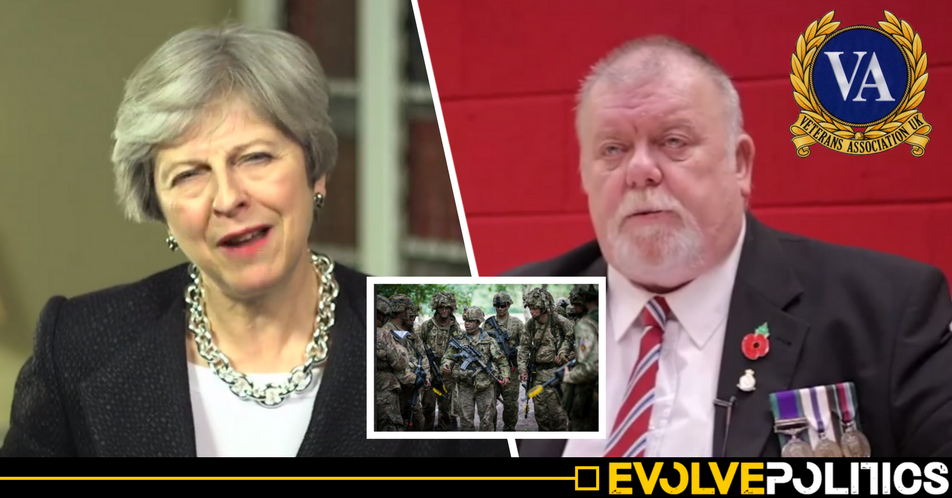Tories 'failing' soldiers as 'record high 13,000 veterans' now homeless, Military Charity says