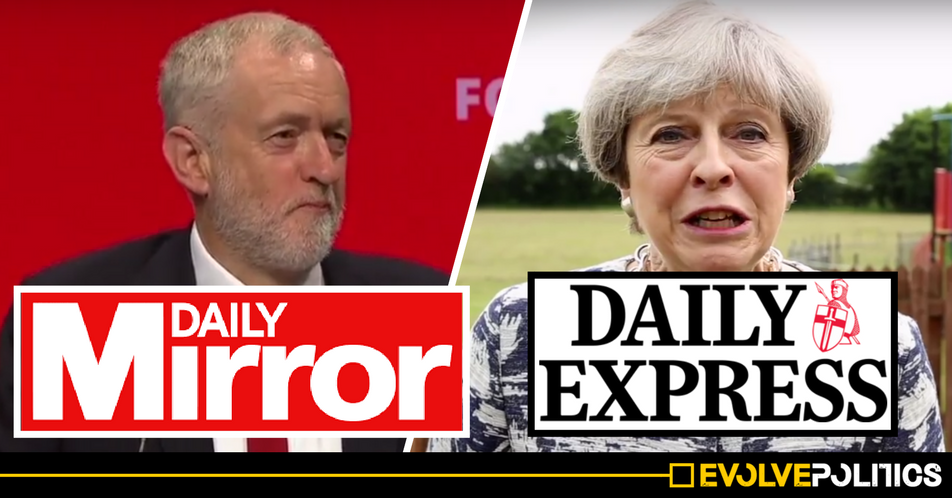 The Daily Express could soon become pro-Labour, as Daily Mirror firm £127m takeover imminent