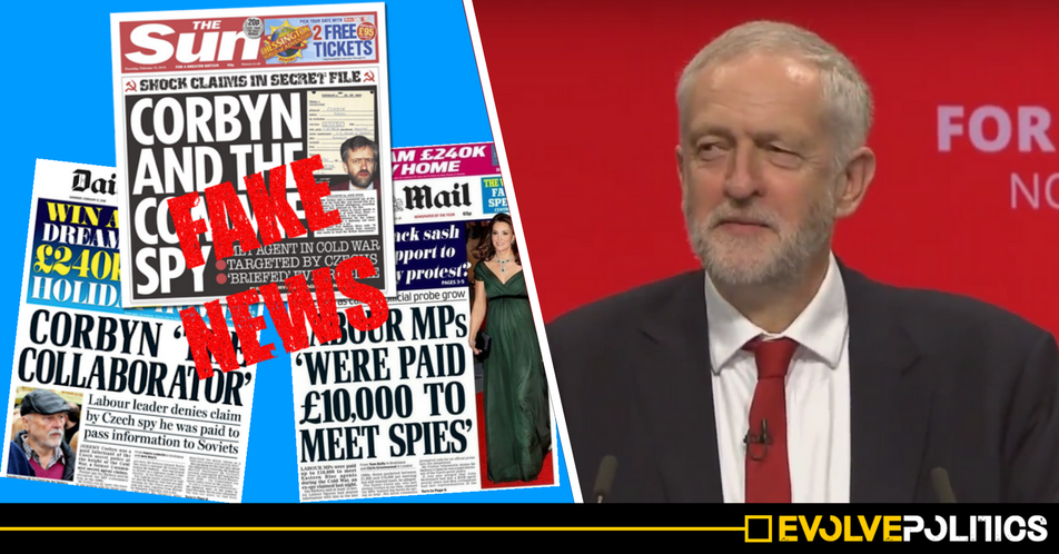 The Corbyn Czech Spy story is a HOAX - the Czech Security Service Director just all but confirmed it