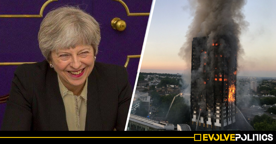 Despite Grenfell, the Tories look set to WEAKEN high-rise fire regulations after lobbying from construction firms