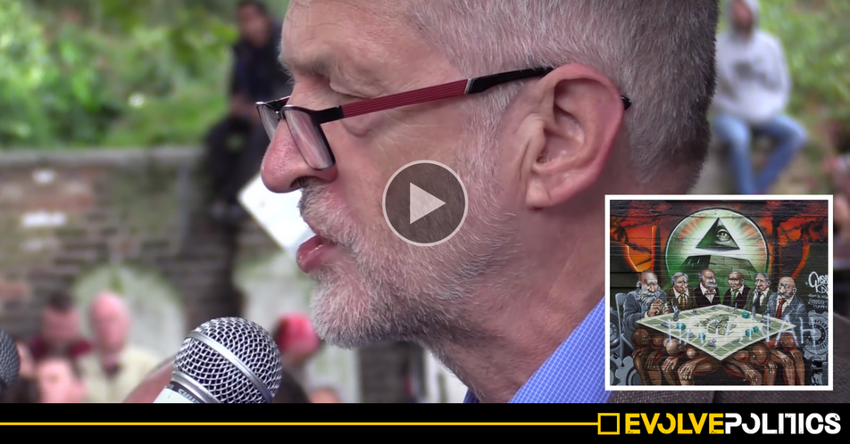 WATCH: Jeremy Corbyn is no anti-Semite - his emotional Cable Street speech proves he is the EXACT OPPOSITE [VIDEO]