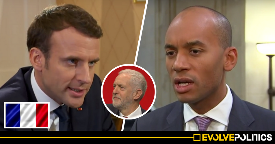France's Centrist 'Blairite' President Macron sides with Corbyn over Russia: We must wait for