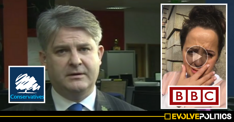 WATCH: Tory MP Philip Davies accused of 'physically threatening' female BBC comedian during private interview in office [VIDEO]