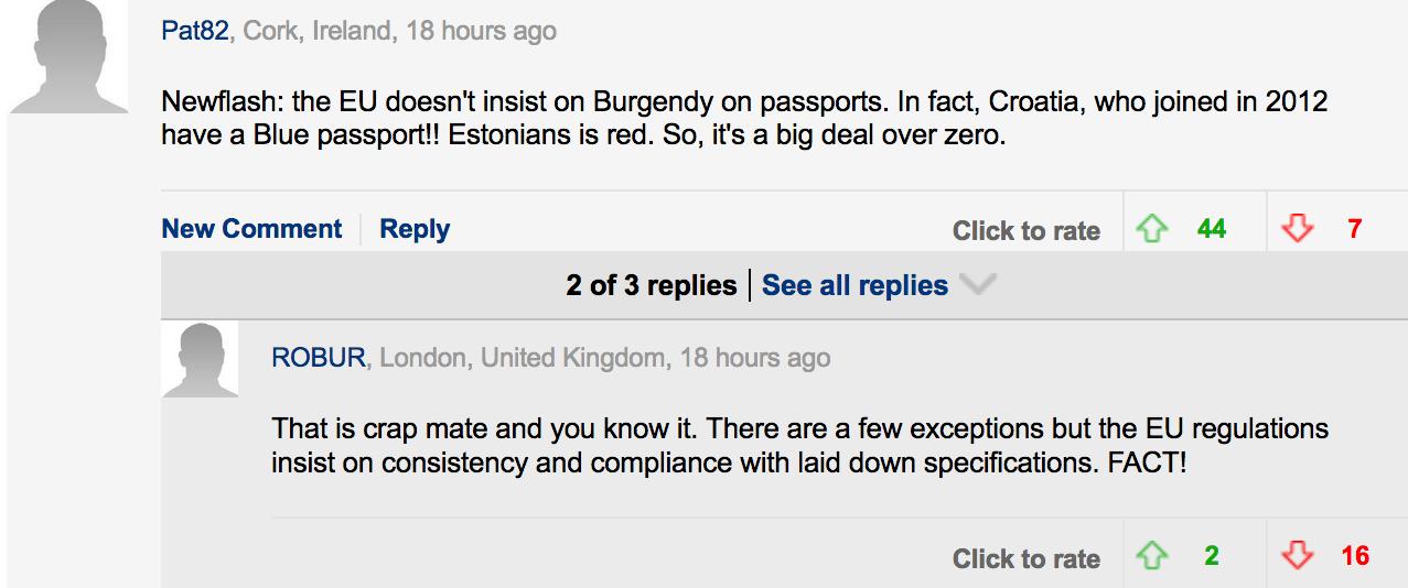 Blue Passports | DM Comment 12