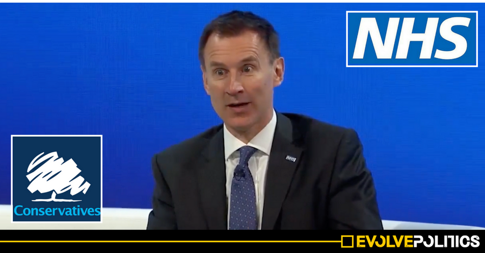 Jeremy Hunt just admitted breaking money laundering laws punishable by a 2 year prison sentence