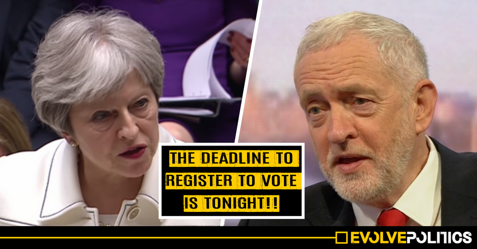 The Tories are DESPERATE for young people NOT to vote on May 3rd - and Jeremy Corbyn just expertly exposed them