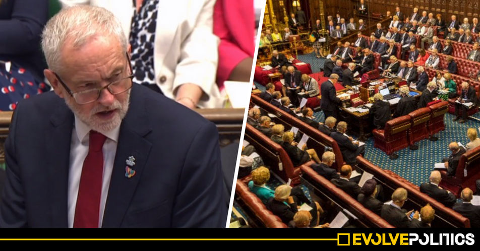 Jeremy Corbyn just promised Labour WILL abolish the House of Lords and replace it with an ELECTED second chamber