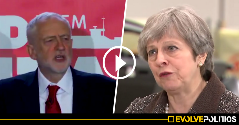 WATCH: Jeremy Corbyn expertly exposes the Tories' brazen hypocrisy over foreign outsourcing [VIDEO]
