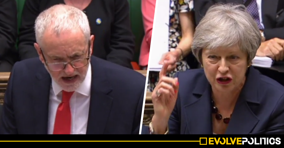 WATCH: Corbyn turns May into a gibbering wreck at PMQs - and even the UK media can't whitewash this Tory shambles [VIDEO]