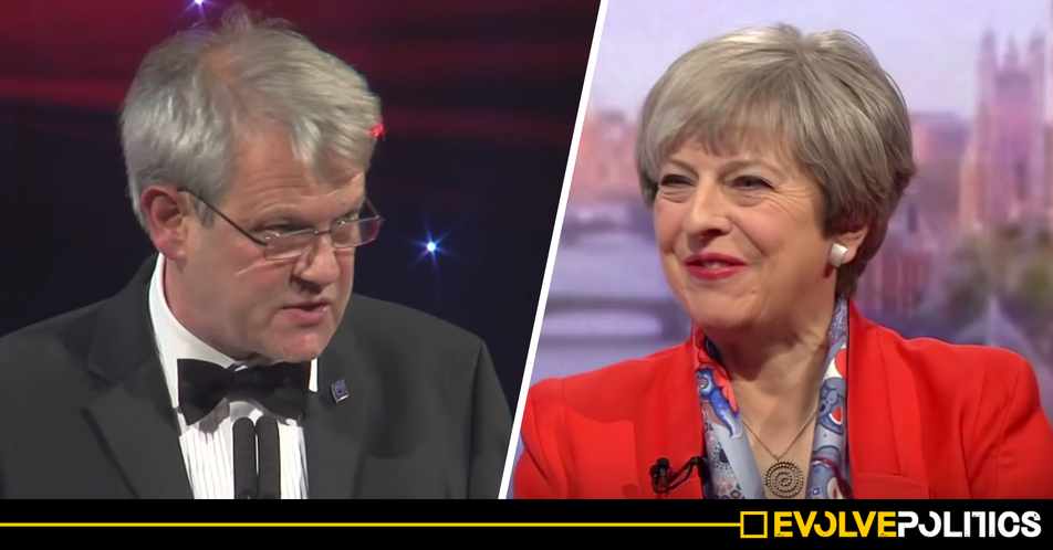 WATCH: German-born 'Gruffalo' illustrator explains what a Tory Brexit means for UK immigrants like him in powerful speech [VIDEO]
