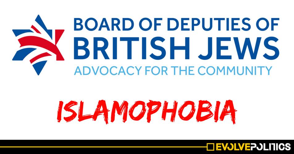 Member of The Jewish Board of Deputies labels Muslims as