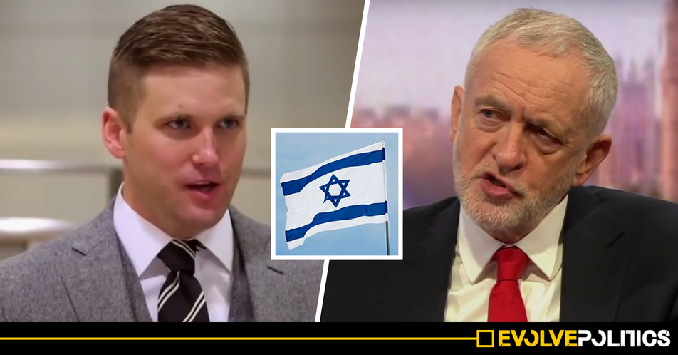 Israel's latest abhorrent apartheid policy just got endorsed by a literal Nazi
