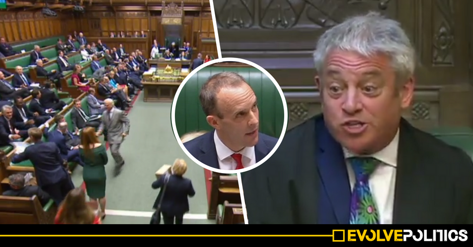 WATCH: CHAOS as Tories