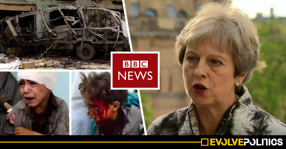 BBC accused of covering up Theresa May's role in the horrific murder of 29 children
