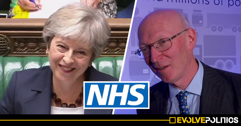Theresa May appoints Tory Peer who advocates NHS privatisation to crucial 'independent' NHS Chairman role
