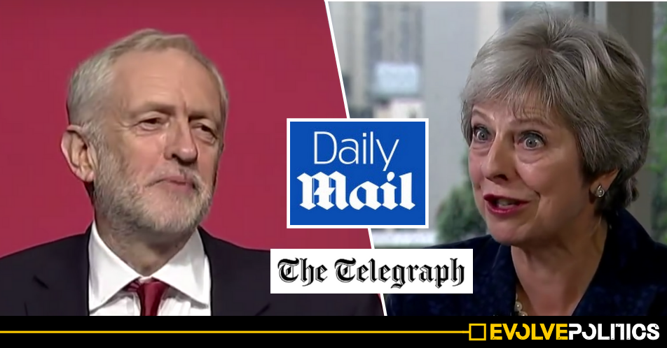 The Tories' media lackeys are completely freaking out after realising Labour's policies are hugely popular