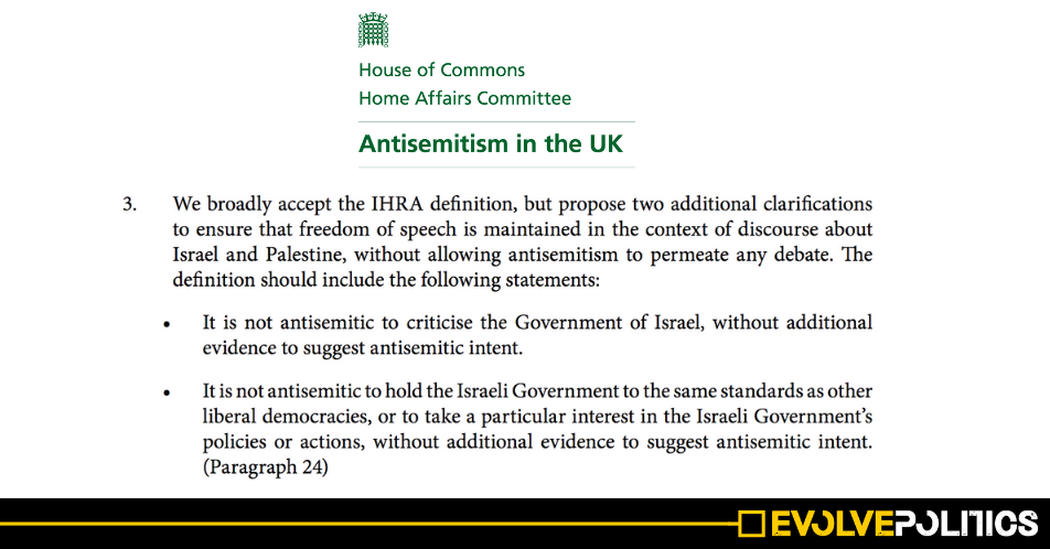 Labour's 'free-speech caveat' is virtually identical to 2016 cross-party Home Affairs Committee recommendation