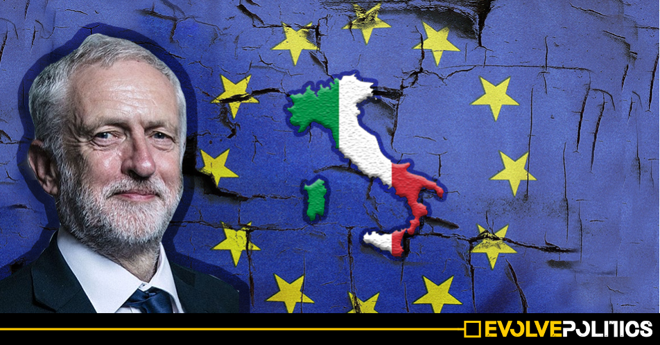 The EU's threat to impose failed economics on Italy shows exactly why Jeremy Corbyn has got it right over Brexit