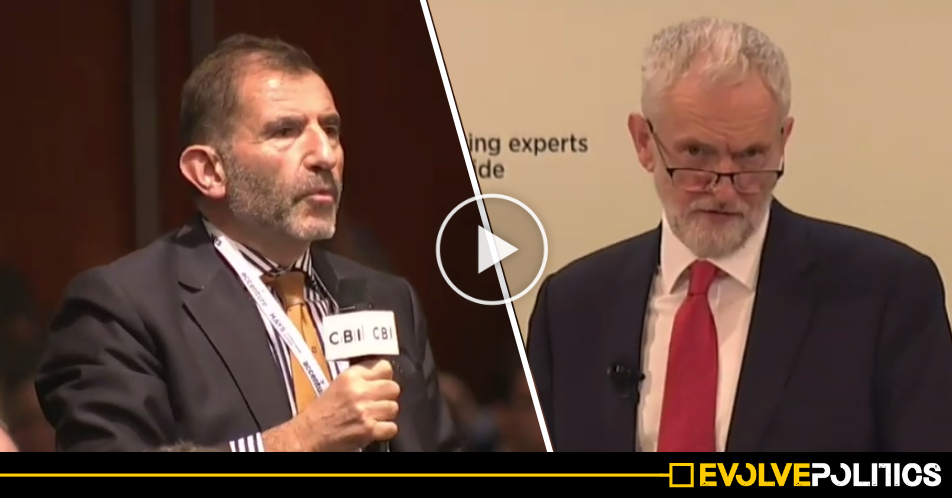 WATCH: Jeremy Corbyn destroys the myth that he's 'anti-aspiration' in incredible impromptu retort [VIDEO]