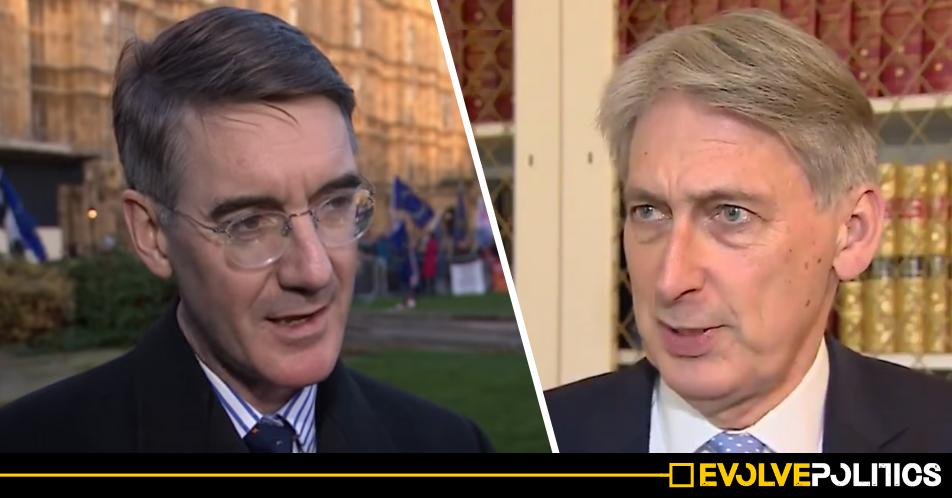 Tory split looms as Philip Hammond labels Boris Johnson and Jacob Rees-Mogg