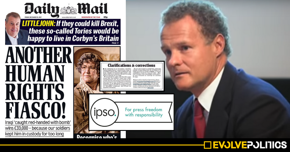 The Daily Mail named and shamed as the most untrustworthy UK media outlet for third year running