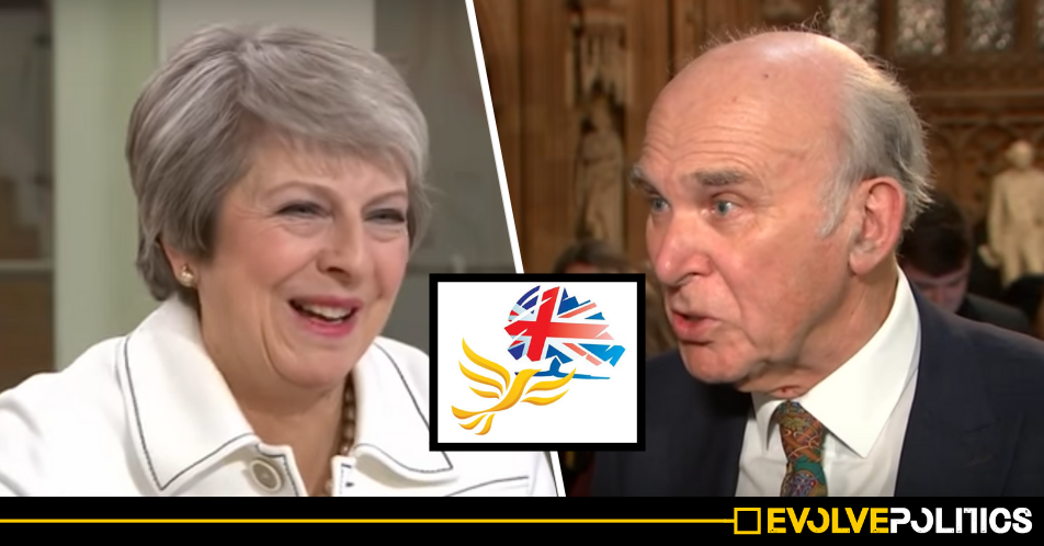 Liberal Democrat leader Vince Cable pledges to prop up Theresa May's Tory government in future confidence motions