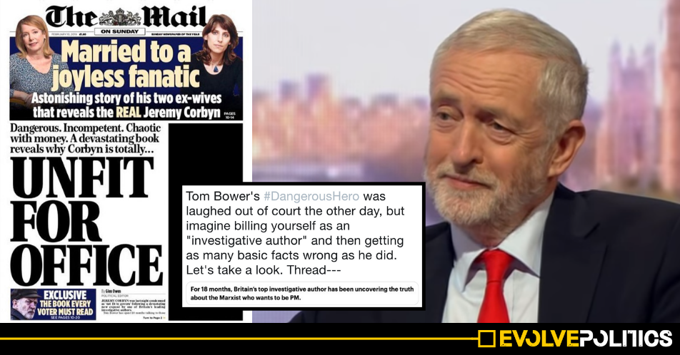 Incredible Twitter thread exposes 15 lies and fabrications in the Daily Mail's #DangerousHero Corbyn hatchet job