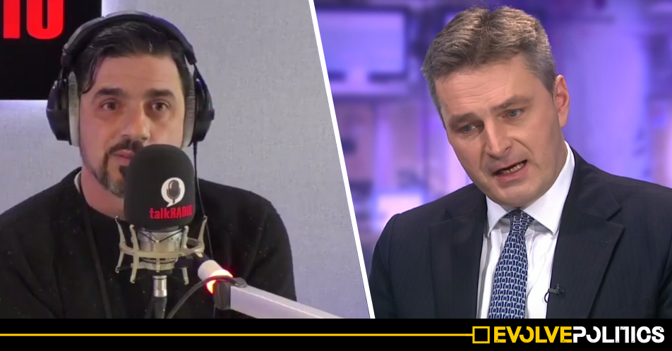 WATCH: Humiliated Tory MP hangs up during live radio interview after being exposed as a brazen liar [VIDEO]