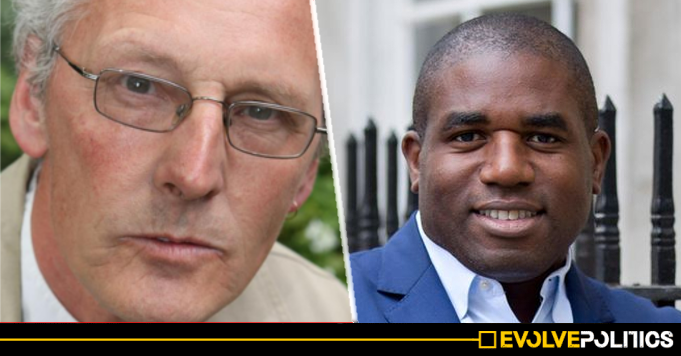 Notorious Ex-Tory Councillor sparks fury after tweeting 'Blackface' image at BAME Labour MP David Lammy