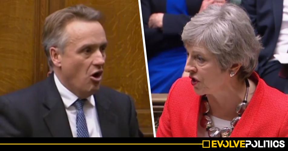 Senior Tory MP admits