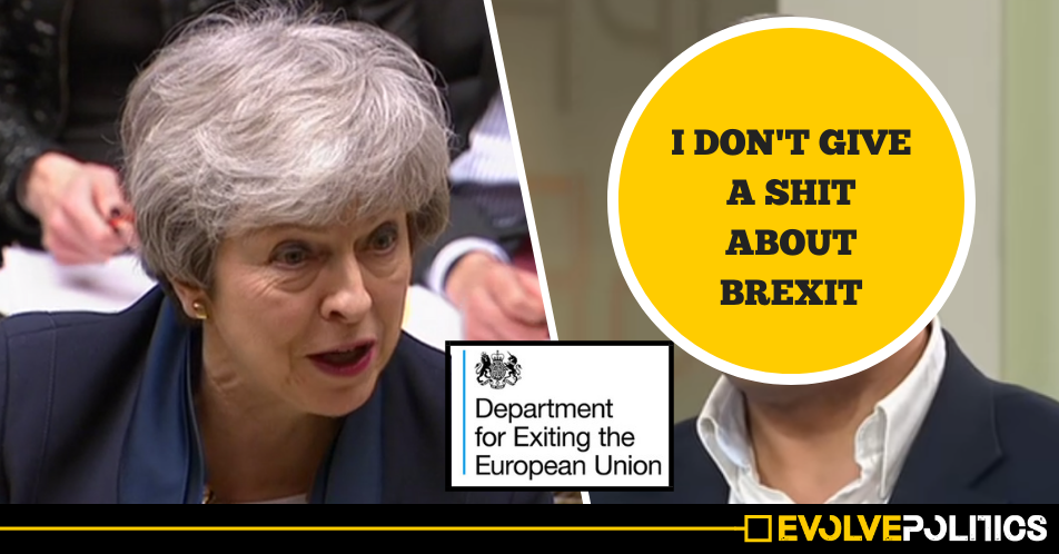 Theresa May appoints man who said 'I don't give a sh*t about Brexit' as Brexit Minister