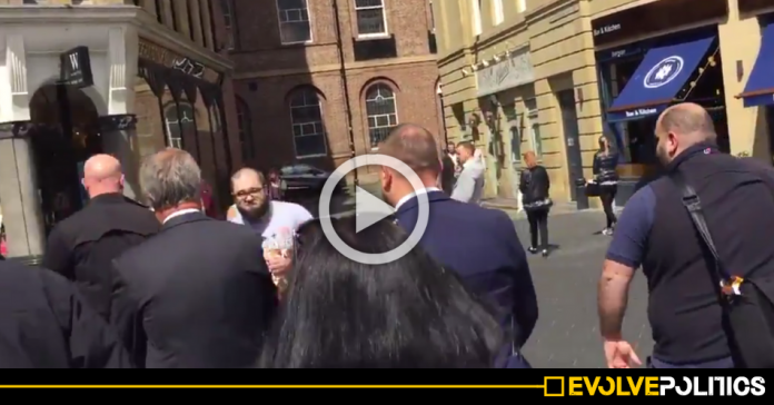 WATCH: Here's the full footage of Nigel Farage being milkshaked in Newcastle [VIDEO]