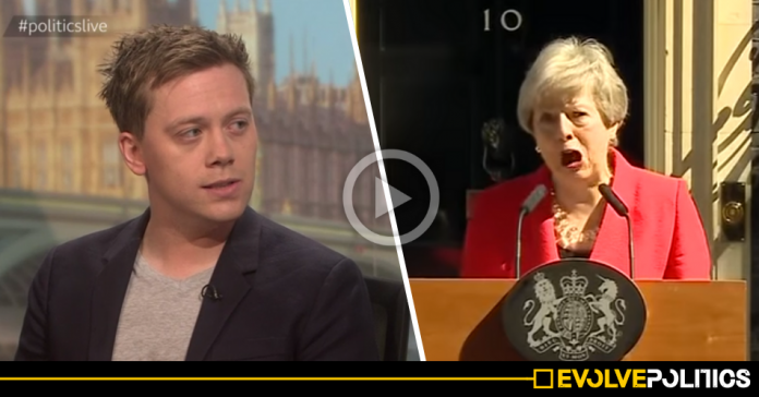 WATCH: Owen Jones eloquently explains exactly why nobody should feel sorry for Theresa May [VIDEO]