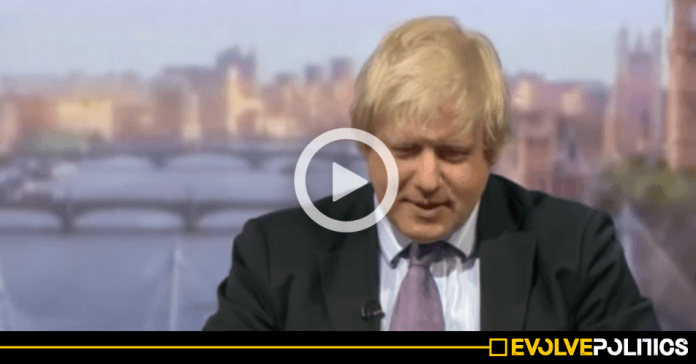 WATCH: If you think Boris Johnson can be trusted to be Prime Minister, watch this video and think again. [VIDEO]