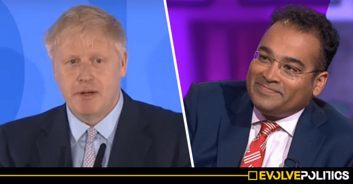 Boris Johnson has officially chickened out of the live Channel Four Tory leadership debate