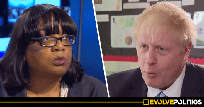 Mainstream media strangely silent over white male Tory's truly horrendous numbers gaffe