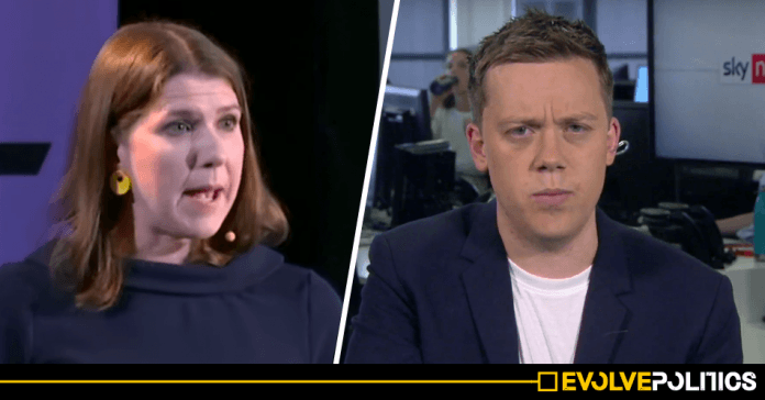 WATCH: Owen Jones eviscerates the Lib Dems for refusing to stop No Deal by backing caretaker Corbyn government [VIDEO]