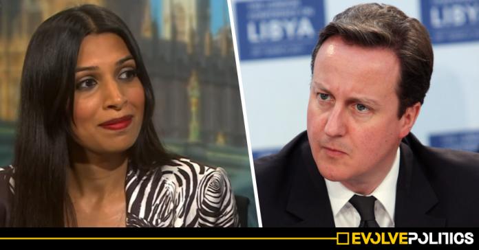 WATCH: Labour PPC Faiza Shaheen calls David Cameron a