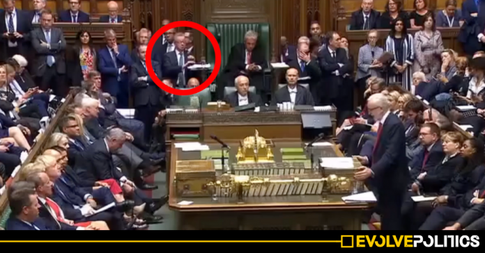 WATCH: Michael Gove accused of being 'drunk or on drugs' as he sways and stumbles during crucial Commons debate