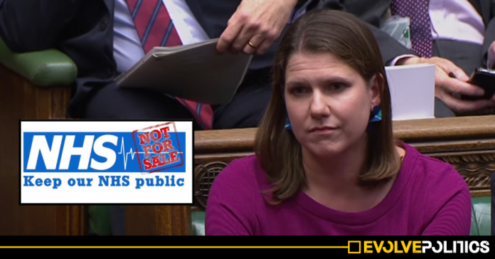 Jo Swinson's Lib Dems refuse to support motion to halt NHS Privatisation