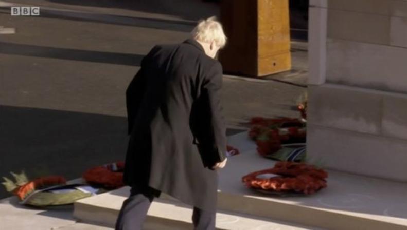 Boris Cenotaph 2019