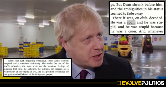 Boris Johnson called black traffic wardens