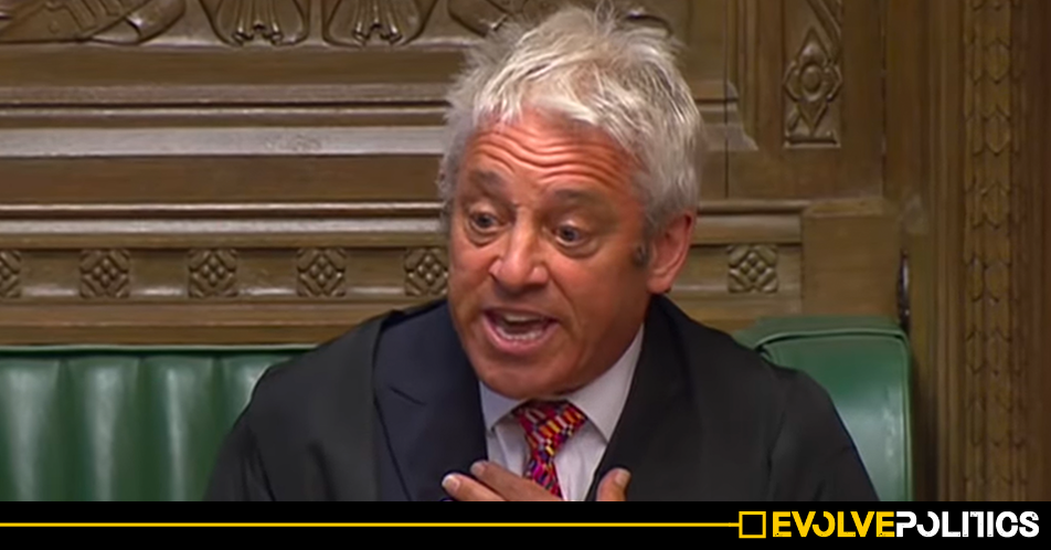 John Bercow says a fellow Tory MP warned him that Jews and lower classes should be banned from Parliament