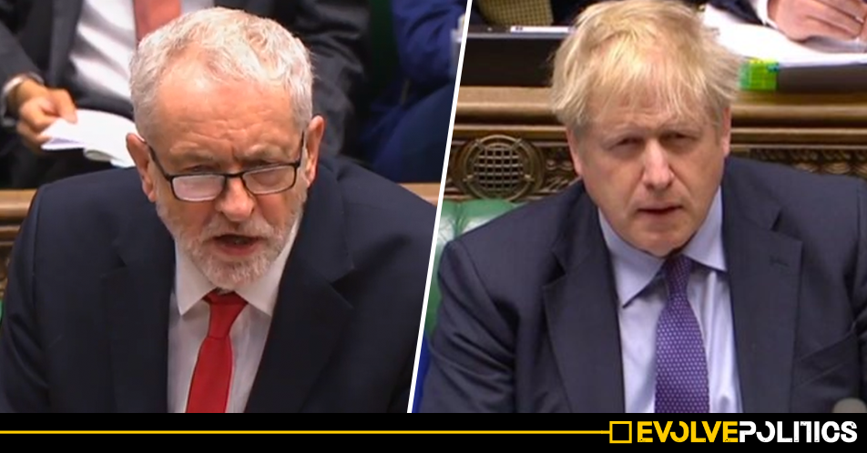 WATCH: Jeremy Corbyn finally hits Boris Johnson with a brutal personal attack - and it was bang on the money [VIDEO]