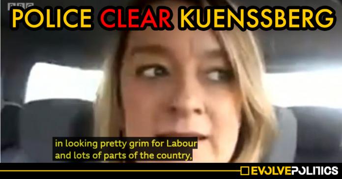 Met Police clear Laura Kuenssberg of electoral crime after she revealed postal vote information during December election