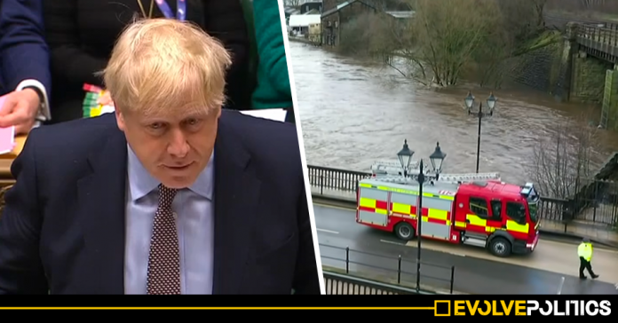 Tory MPs vote down motion to thank emergency workers who helped during February floods and to prevent further flooding