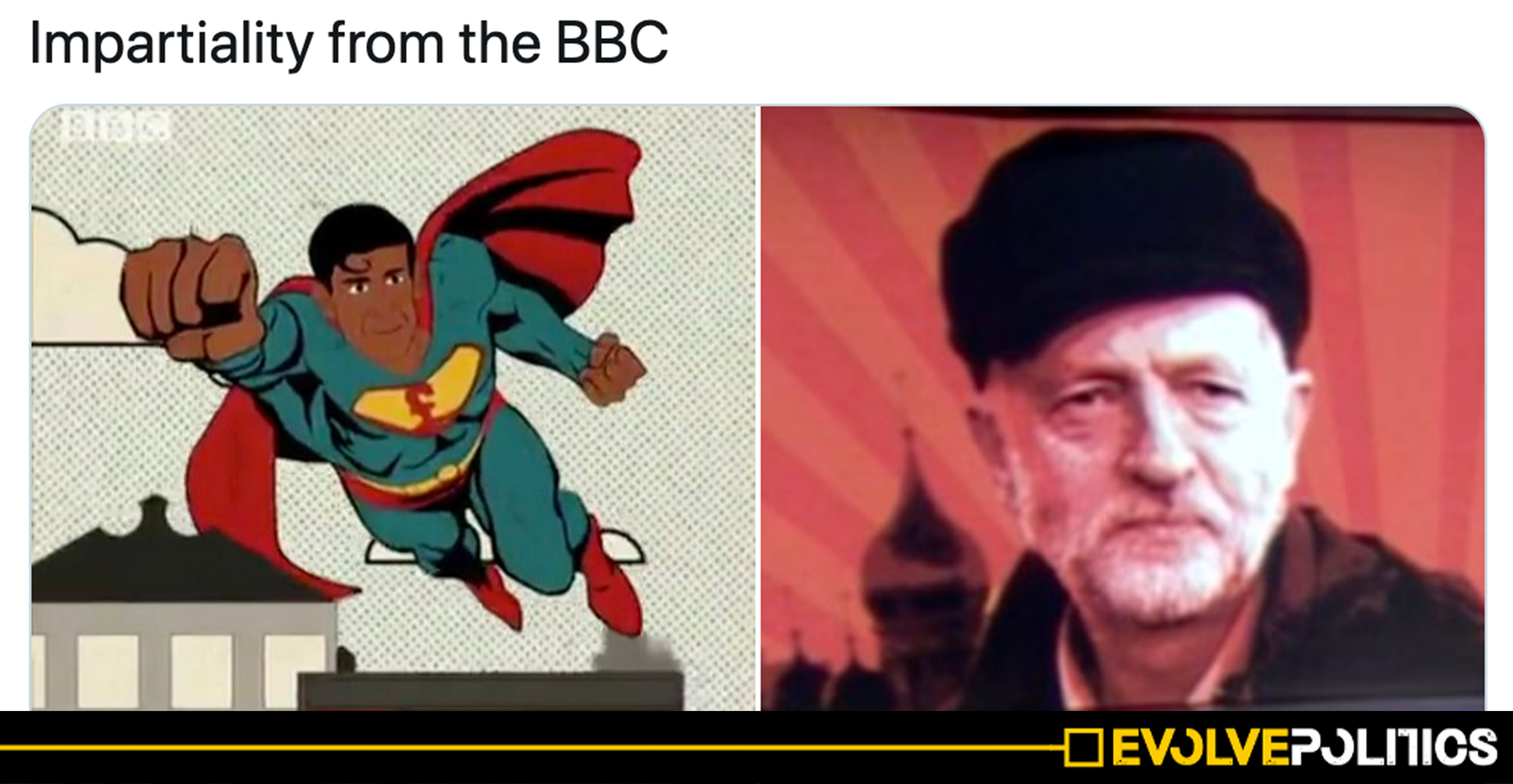 BBC forced to delete 'blatant propaganda' cartoon portraying Tory Chancellor as a SUPERHERO