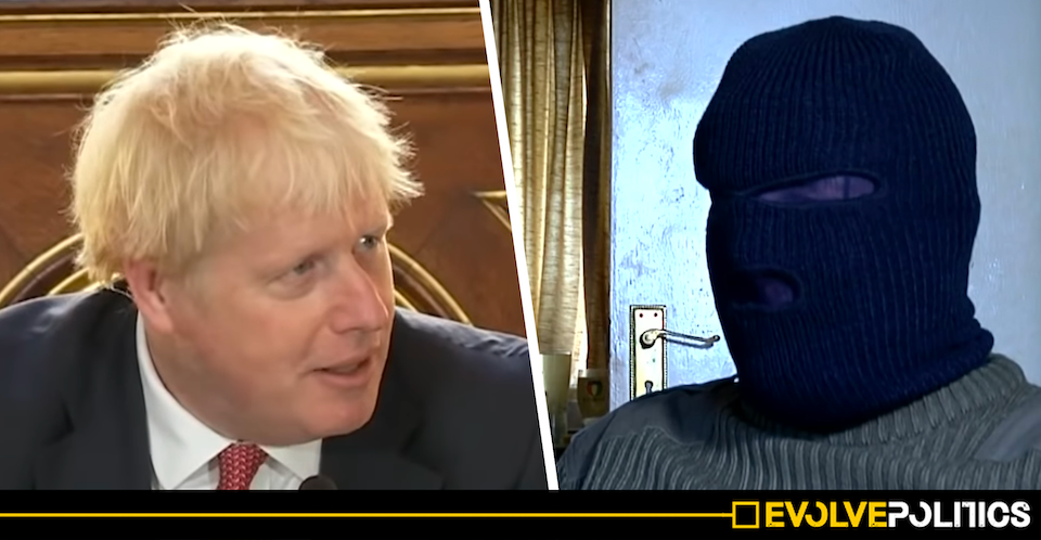 Boris Johnson is putting an unashamed IRA sympathiser into the House of Lords - and the right-wing media are totally silent